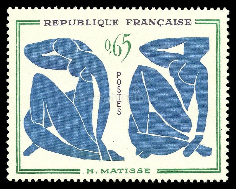 Bleus del nus de Les de la pintura por Matisse fotos de archivo libres de regalías