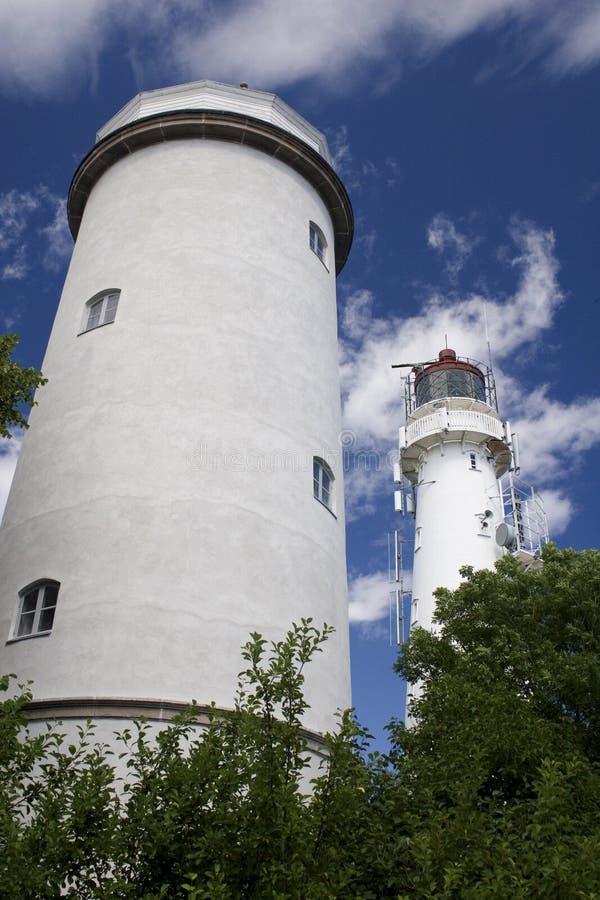 Bliźniaczej Wieży latarnia morska zdjęcia stock