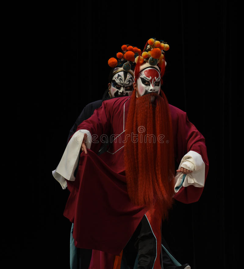 """Bliźniaczy zli medycyny Pekin Opera"""" kobiet generałowie Yang Family† zdjęcia royalty free"""
