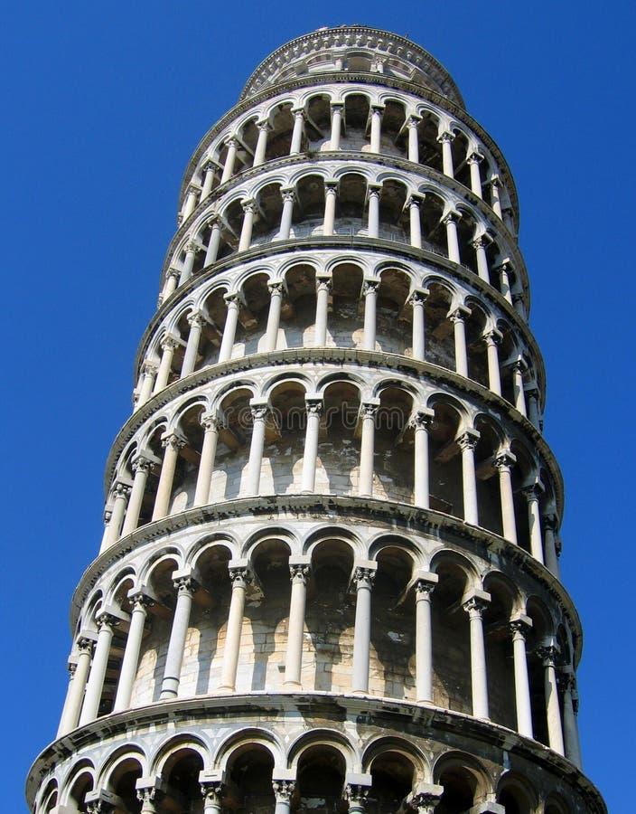 bliżej 2 Pisa wieży, zdjęcia royalty free