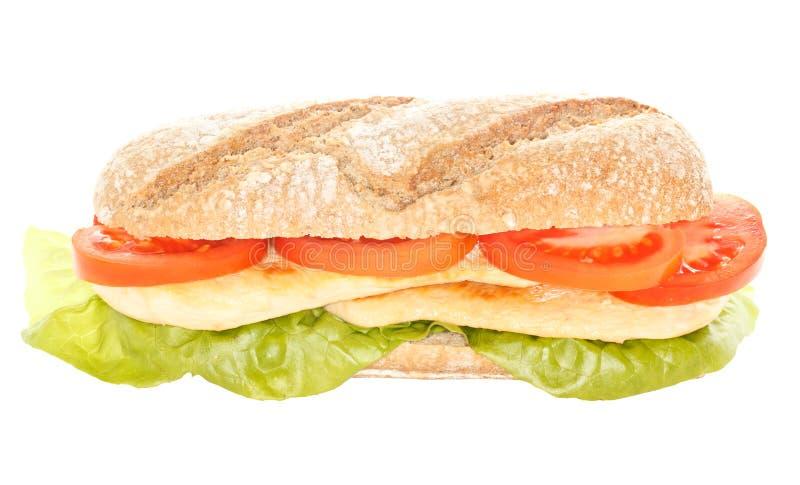 Bli rädd smörgåsen royaltyfri bild