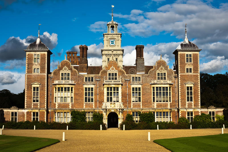 Blickling hall stock photo