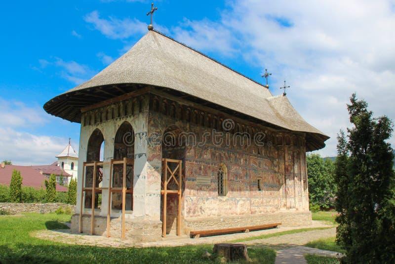 Blidka kloster - den huvudsakliga kyrkan royaltyfri foto
