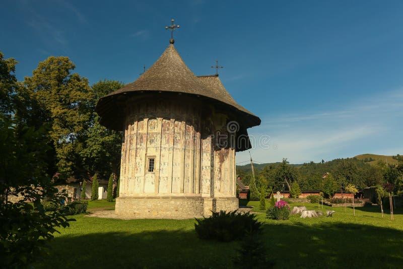 Blidka kloster, Rumänien fotografering för bildbyråer