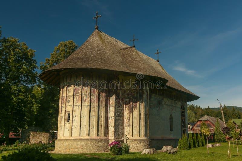 Blidka kloster, Rumänien royaltyfri fotografi
