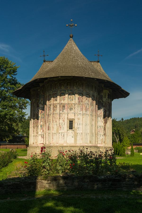 Blidka kloster, Rumänien arkivbilder