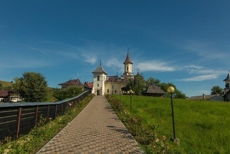 Blidka kloster, Rumänien arkivfoto