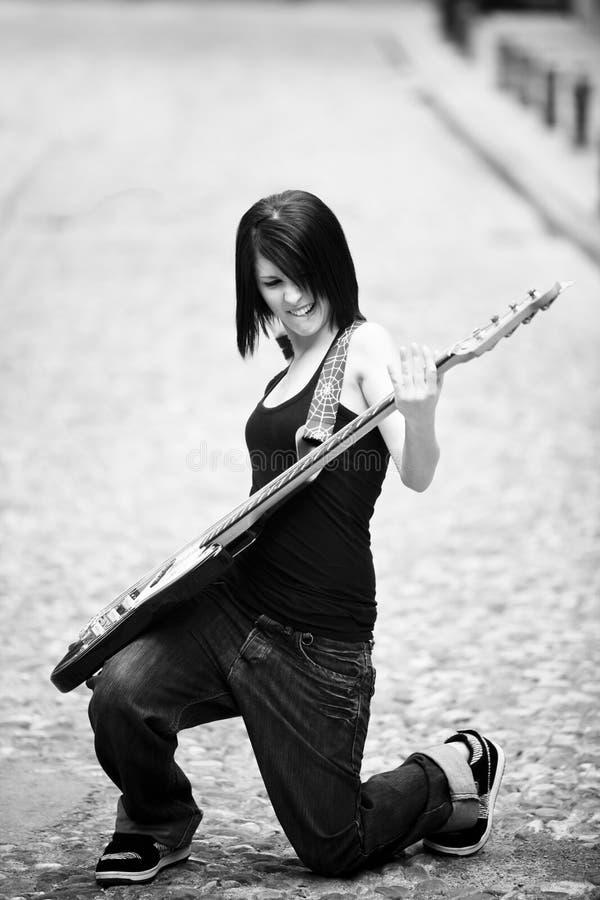 Blije gitarist