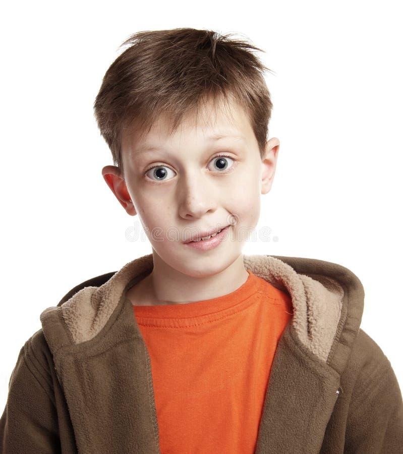Blije tiener stock fotografie