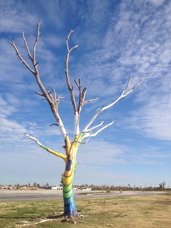 Blijft van een tornado stock afbeeldingen