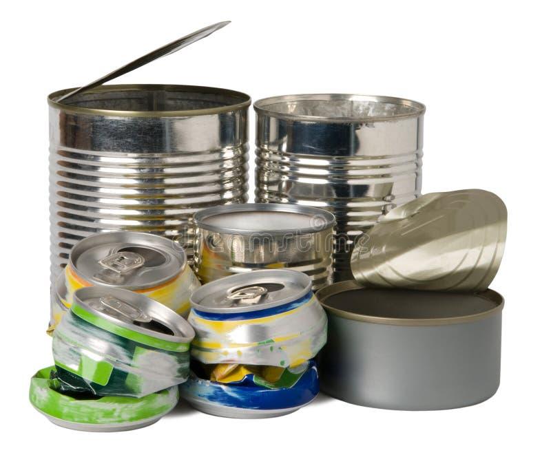 Blikken en tin royalty-vrije stock afbeelding