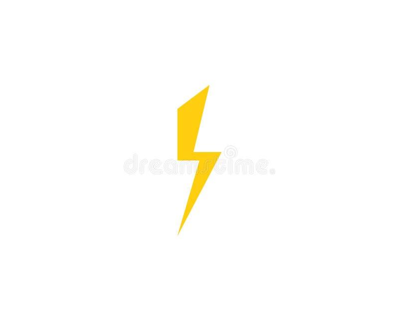 blikseminslag vector illustratie