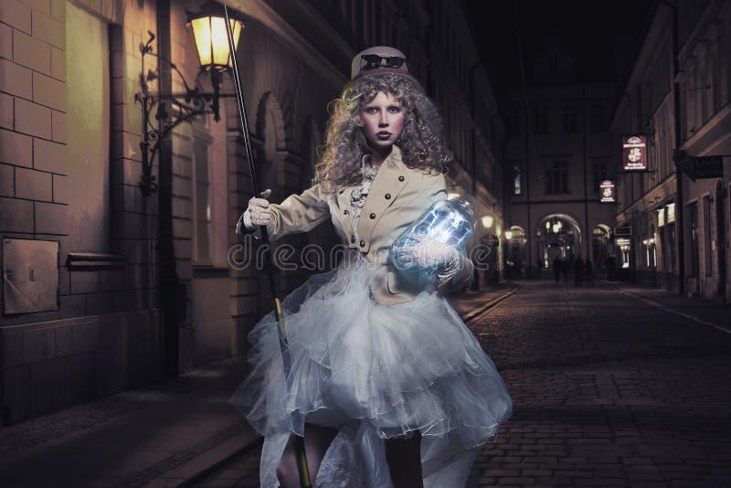 blikseminslagen royalty-vrije stock afbeelding