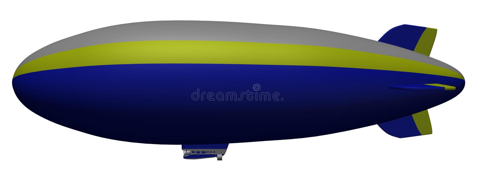 Blimp Royalty Free Stock Images