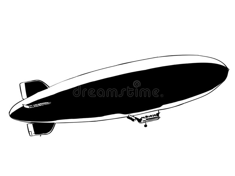 Blimp vector eps Hand drawn Crafteroks svg free, free svg file, eps, dxf, vector, logo, silhouette, icon, instant download, digita. Blimp vector eps, Hand drawn royalty free illustration