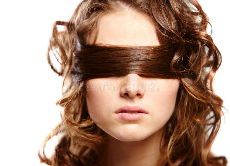 Blind stock afbeelding