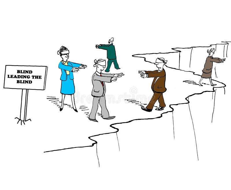 blind stock illustratie