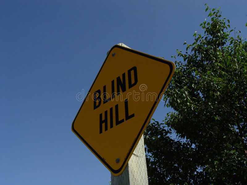 Blind Hill Sign