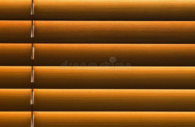 Blind hout royalty-vrije stock foto
