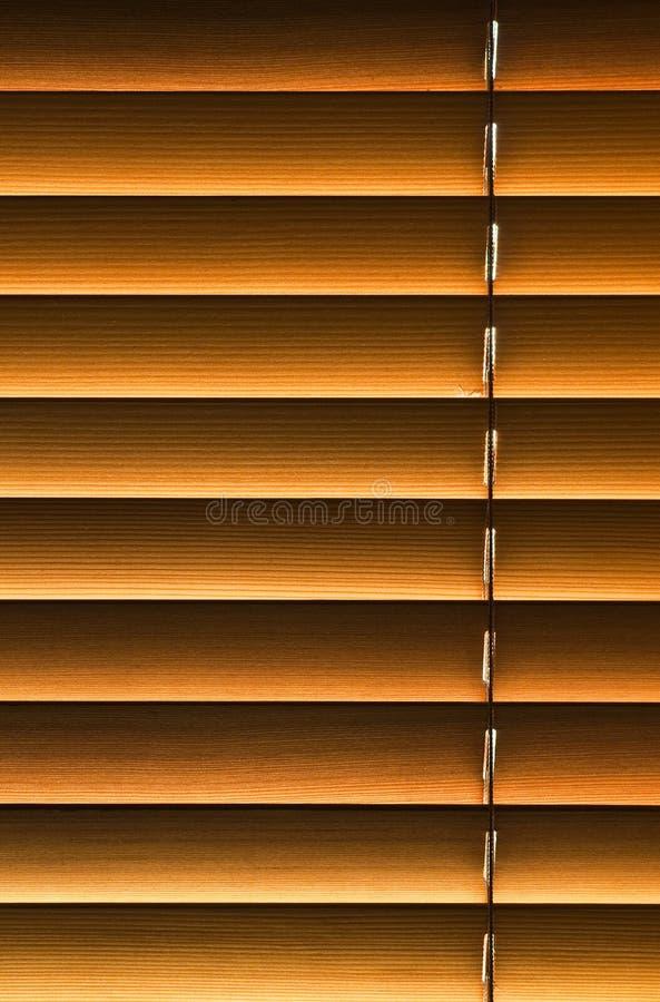Blind hout stock fotografie