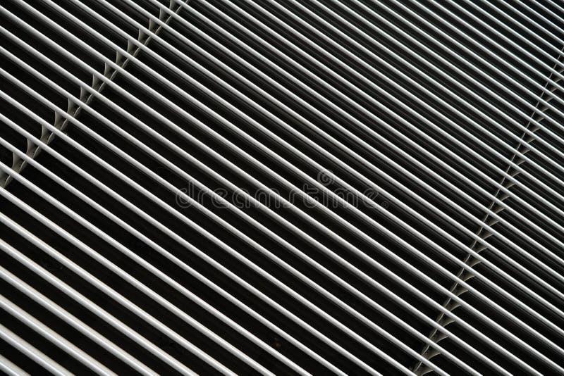 Blind van aluminium stock fotografie
