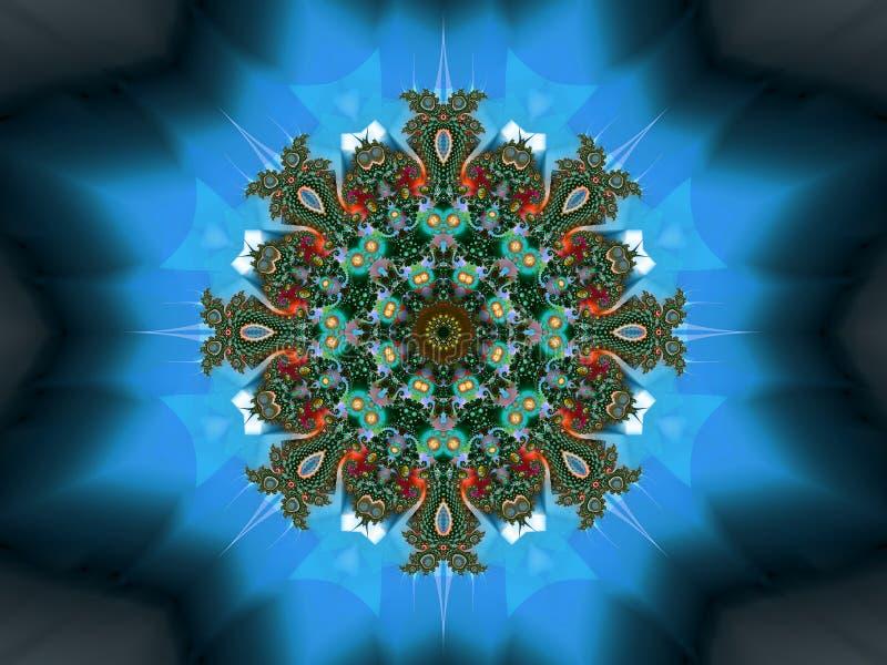 Blindaje de la fe ilustración del vector
