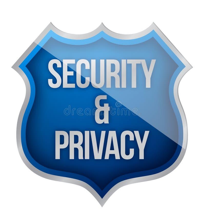 Blindaje de la seguridad y de la aislamiento libre illustration