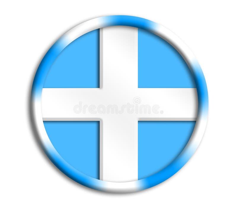 Blindaje de la unión de Grecia para las Olimpiadas stock de ilustración