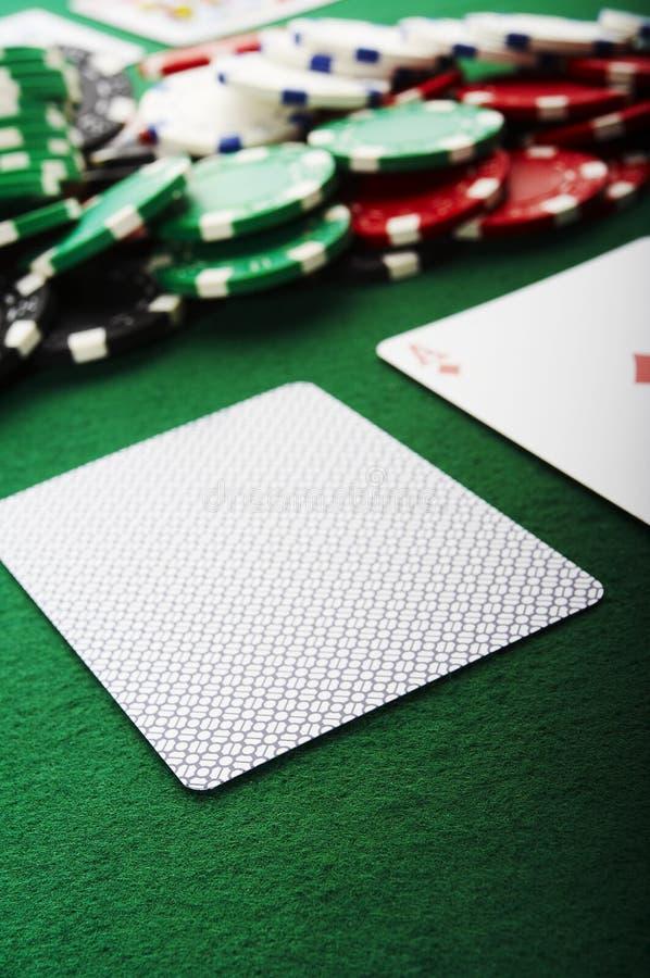 Blinde kaart royalty-vrije stock afbeelding