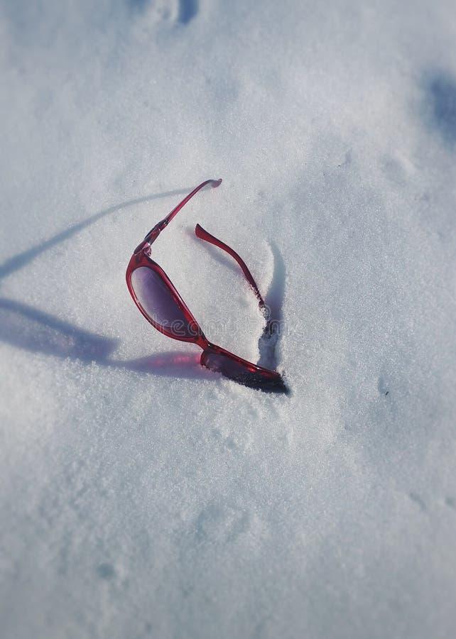 Blinde sneeuw royalty-vrije stock foto