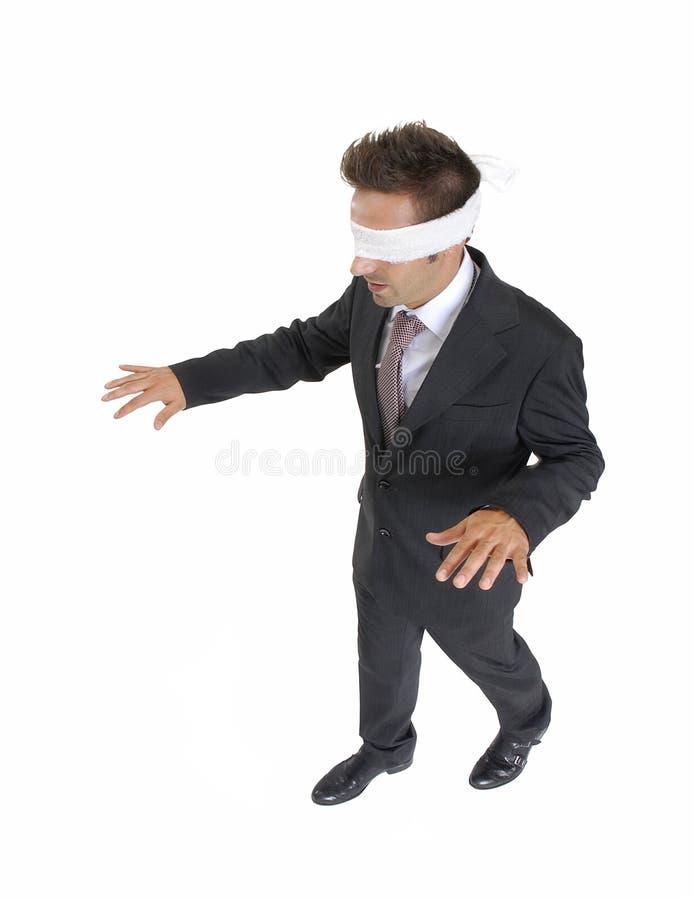 Blinde zaken. stock foto