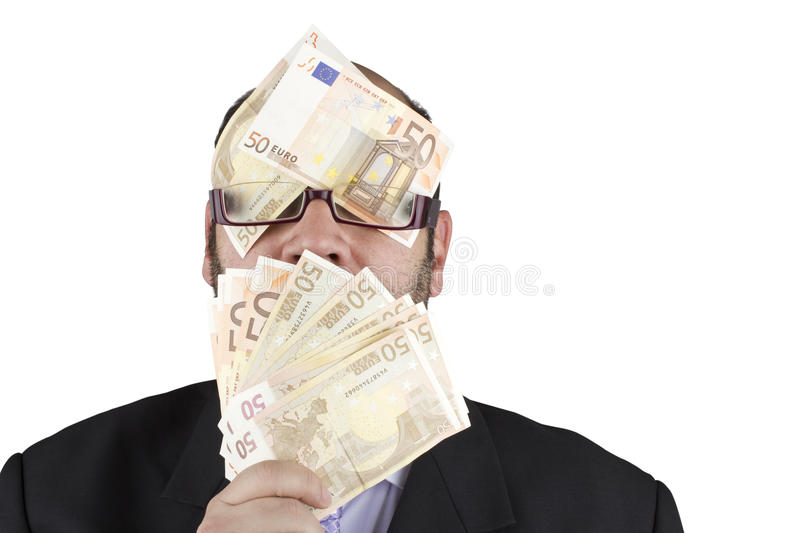 Download Blinded by money stock image. Image of money, people - 28936205