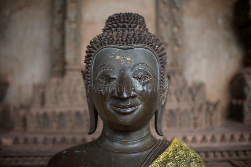 Blinder Buddha stockbild