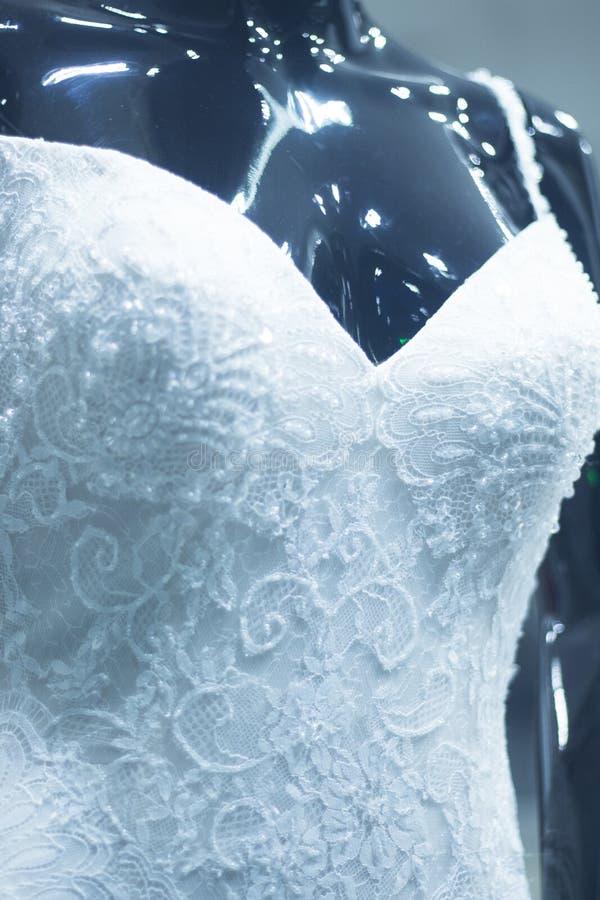 Blindes Brautmannequin des Brautshops lizenzfreie stockfotografie