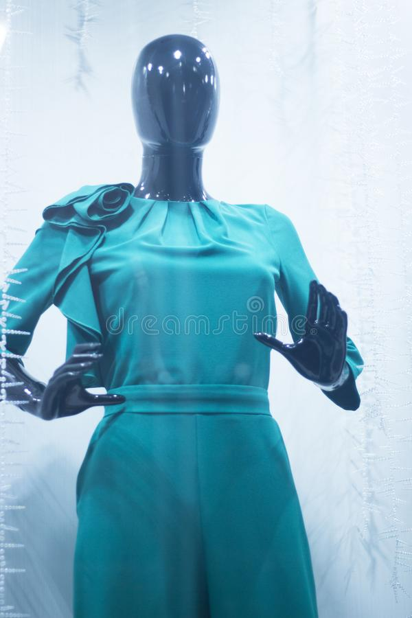 Blindes Gastmannequin des Brautshops stockfotografie