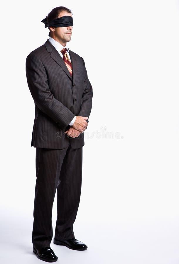 Download Blindfold επιχειρηματίας στοκ εικόνα. εικόνα από μοιχαλίδα - 17053943