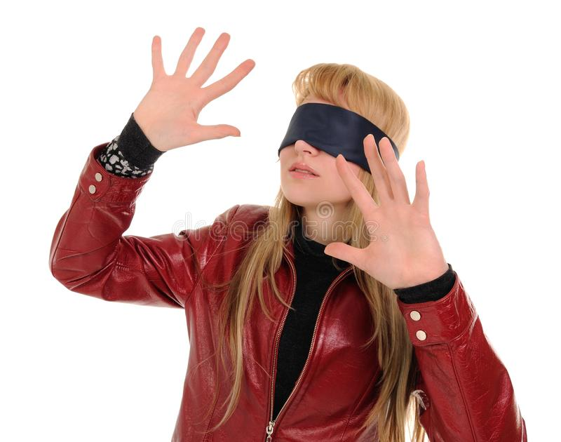 Download Blindfold stock image. Image of bondage, blindfold, caucasian - 12933129