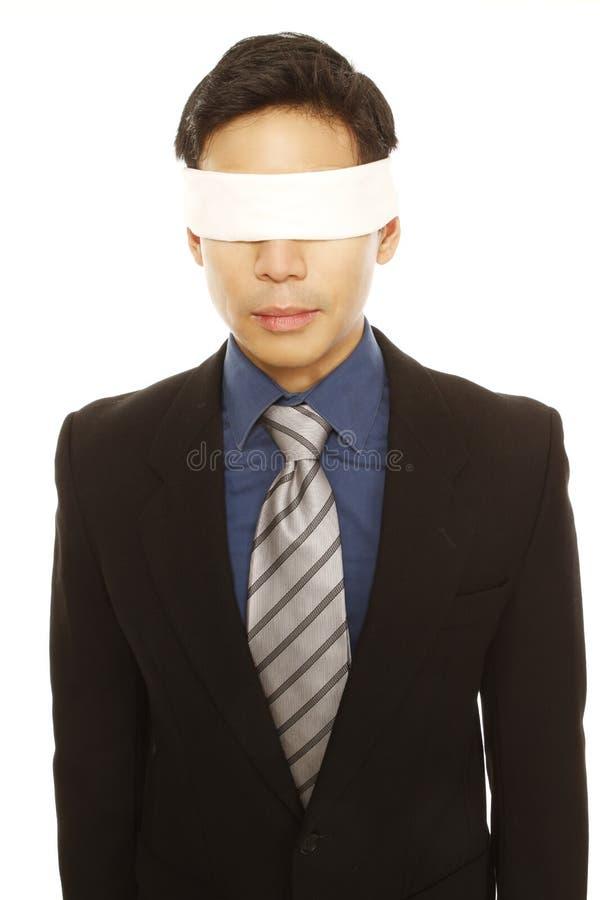 Download Blindfolded Businessman stock image. Image of business - 26270995