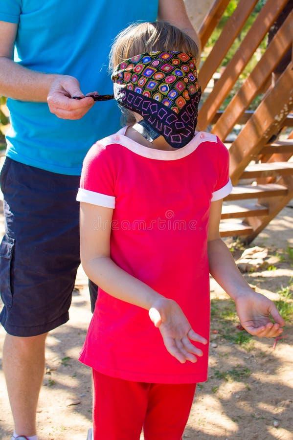 Free Blindfolded Girl Royalty Free Stock Image - 39137446