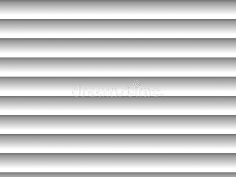 Blinds. Gray horizontal blinds as backdrop or background with sunlight royalty free illustration