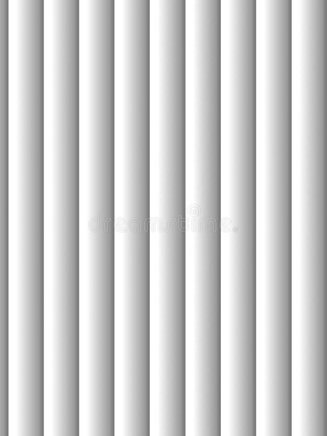 Blinds. Gray vertical blinds as backdrop or background with sunlight stock illustration