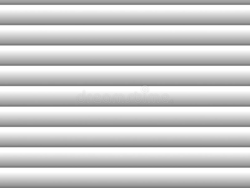 Blinds. Gray horizontal blinds as backdrop or background with sunlight stock illustration
