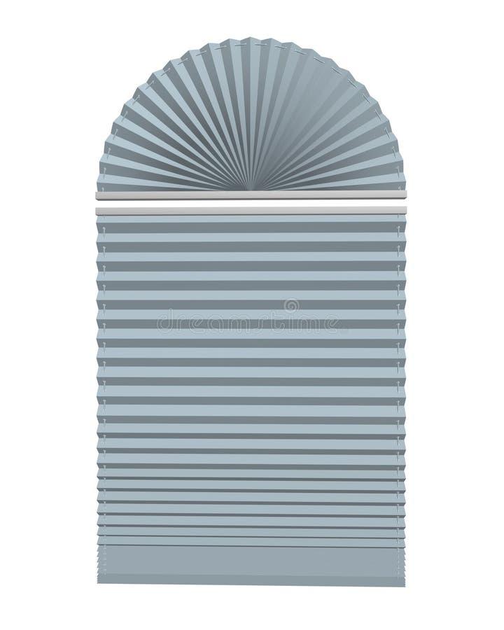 Blinds. Venetian Blinds 3d max of white vector illustration