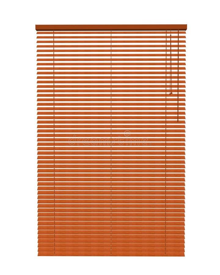 Blinds. Venetian Blinds 3d max of white background stock illustration