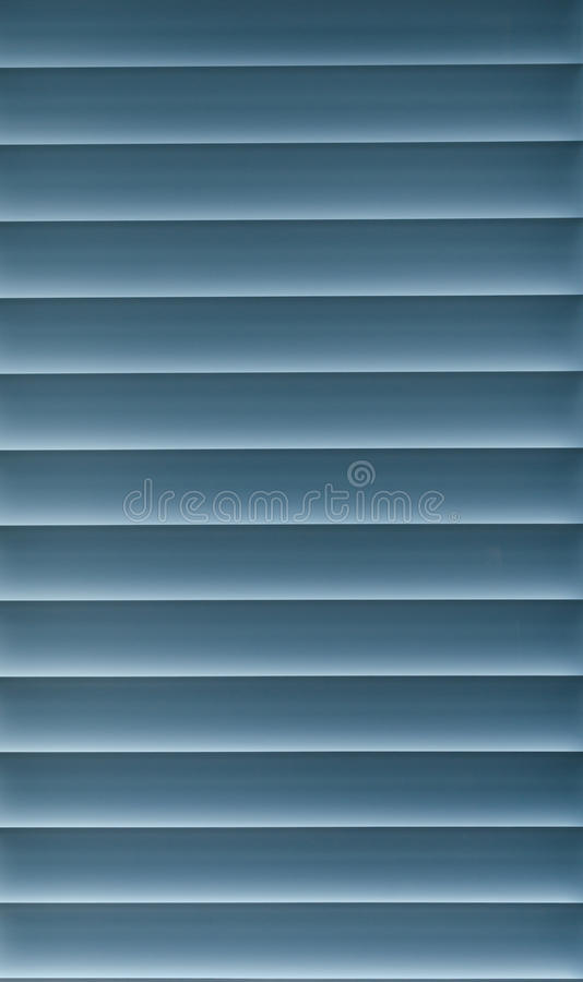 Blue Blinds Royalty Free Stock Image