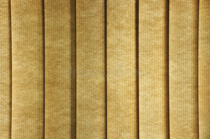 Blinds pattern. Yellow blinds pattern and shade royalty free stock photos