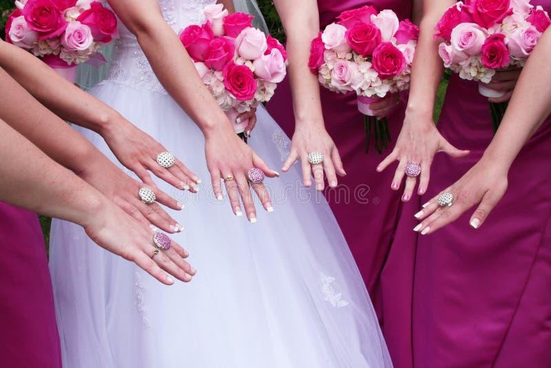 bling венчание стоковые фотографии rf