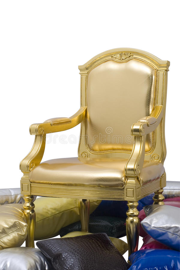 The bling chair stock photo