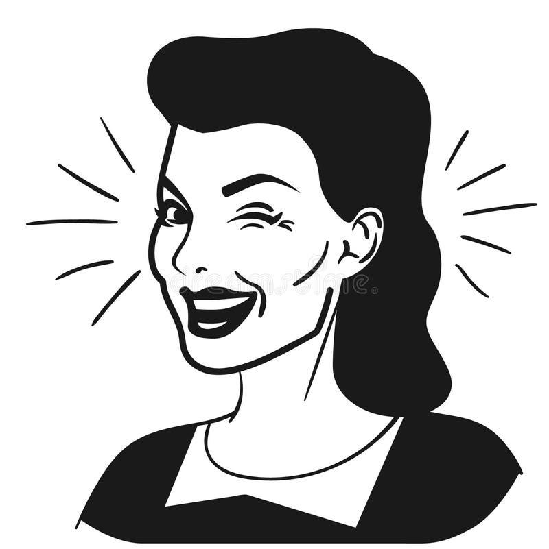 Blinka vektorvektorn, Eps, logo, symbol, konturillustration vid crafteroks f?r olikt bruk Bes?ka min website p? https://craf stock illustrationer