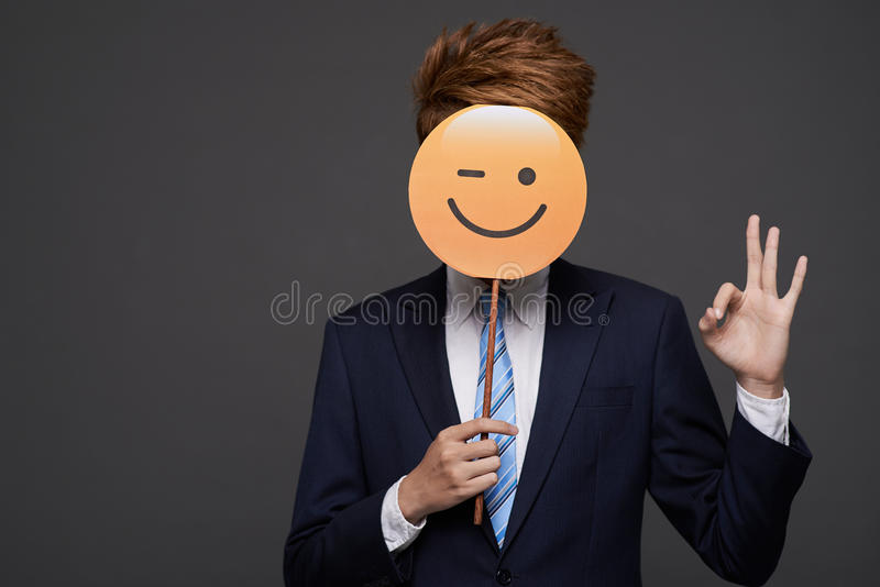 Blinzeln des Gesichtes stockbilder